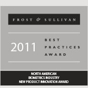 M2SYS receives 2011 frost and sullivan award for hybrid biometric platform