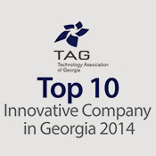 M2SYS named a technology association of georgia tag top 10 innovative technology company for the RightPatient biometric patient ID platform