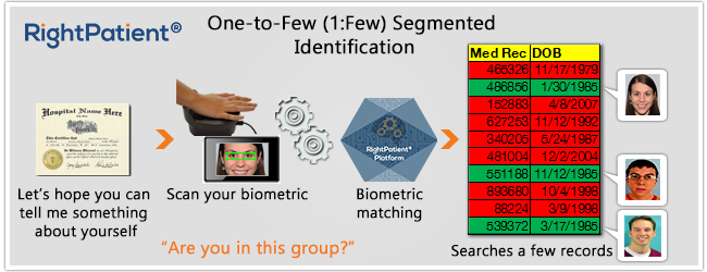 Segmented-Identification