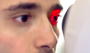 iris recognition is not retinal scanning