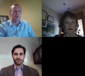 healthcare scene blab session discussing patient identification and patient matching in healthcare