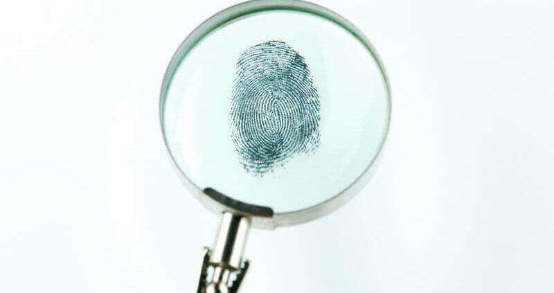 using biometrics to identify the deceased